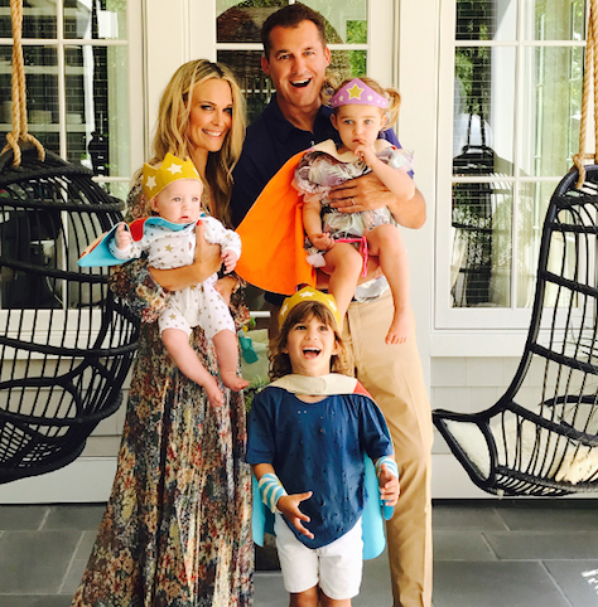 Molly Sims & sa famille