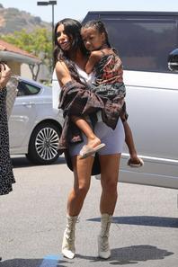 Kim Kardashian & North