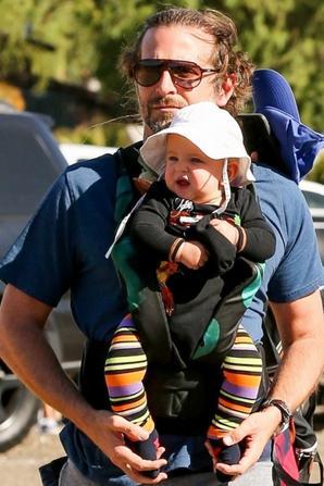Irina Shayk avec Bradley Cooper & leur fille