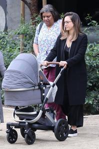 Jessica Alba & son fils Hayes