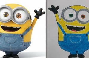 Mes dessins des minions avec les modèles partie 1