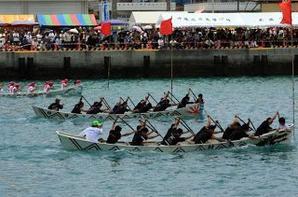 Course de bateaux dragon