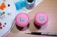 stickers nail art  fait maison avec du matériel de stamping