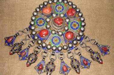 Les bijoux traditionnelle de la femme Algerienne