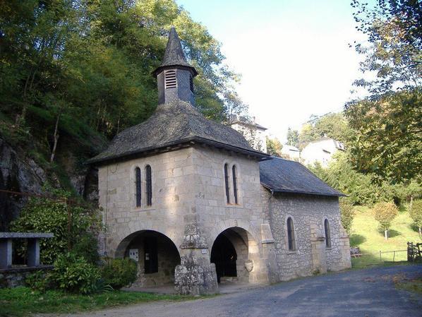 La chapelle Notre Dame du Pont du Salut à Corrèze