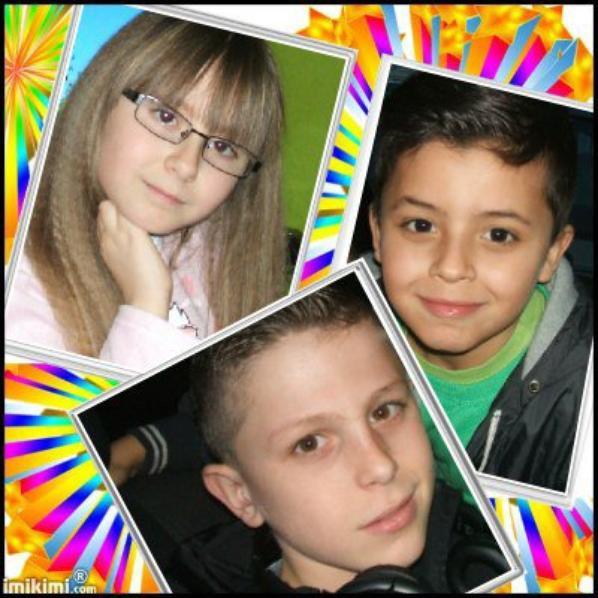ma fille célia  et ses neveux  mes amours