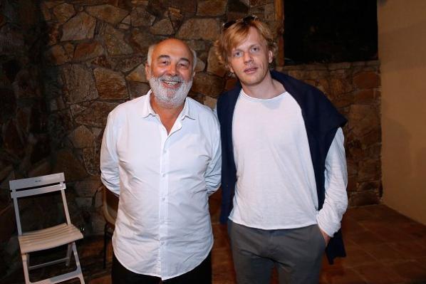 Gerard Jugnot et Alex Lutz au cours du 31eme festival de ramatuelle le 6 août 2015.