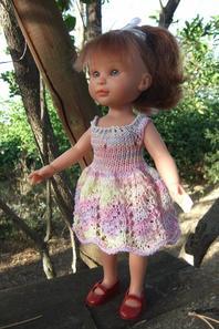 Une première robe pour Justine