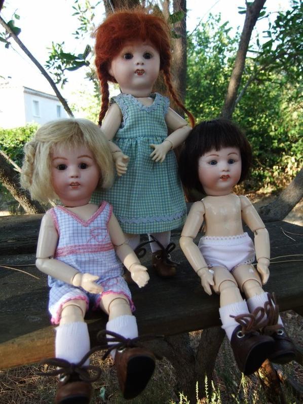 Loulotte vous présente ses soeurs jumelles (enfin ... presque!)
