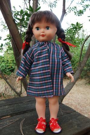 Souvenirs, souvenirs! Les tabliers de Marie-Françoise réalisés quand j'étais enfant.