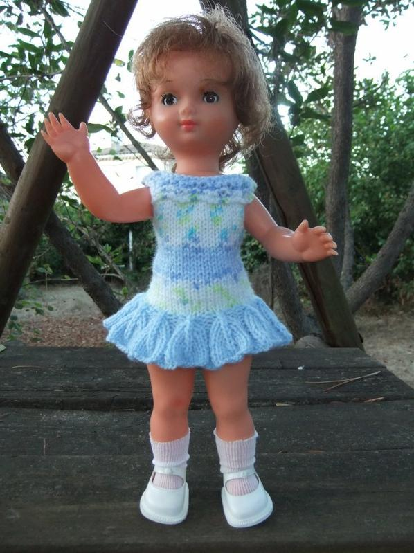 Une robe neuve pour ma petite Bella (33 cm)