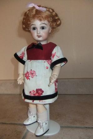 Une nouvelle robe pour Bleuette