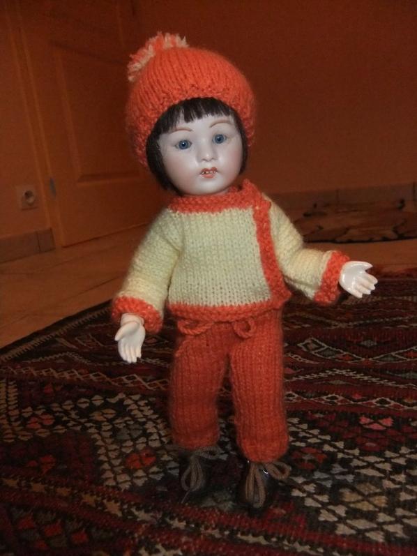 Le costume de ski de Loulotte