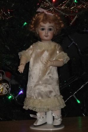 La robe de Noël de Bleuette!