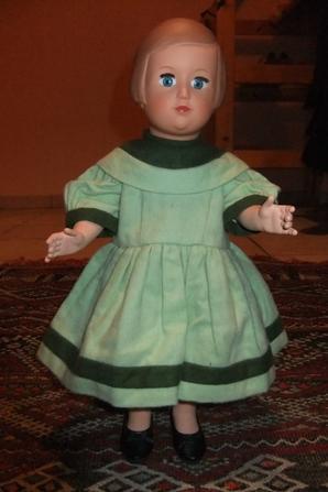 La robe de novembre 1955 pour Françoise!