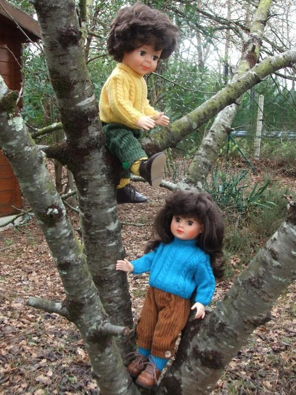 Marie-Françoise et Jean-Michel veulent faire de l'escalade!