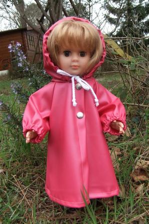 Marie-Françoise ne craint pas la pluie!