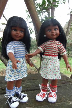 Mes jumelles Paola Reina!