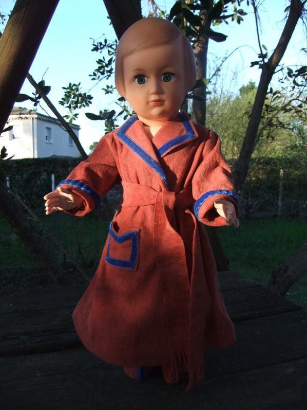 Marie-Françoise et la robe de chambre de décembre 1952!
