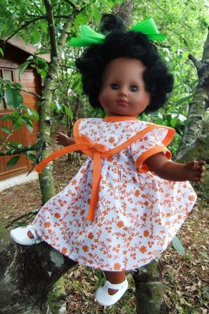 La nouvelle robe de Cécilia!