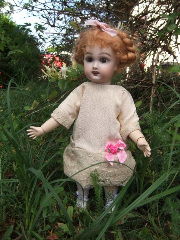 Bleuette au jardin!