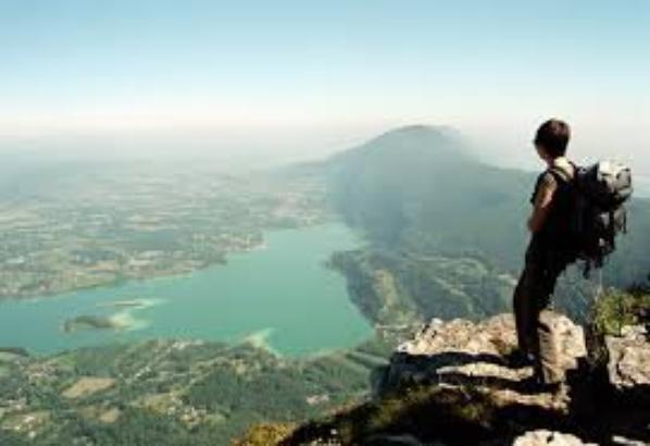 Bloc en pause pour les vacances: direction le lac d'Aiguebelette en Savoie!