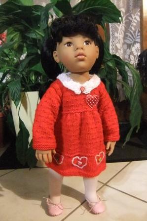 La jolie robe d'Annette!