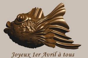 Cette année, les poissons sont en chocolat !