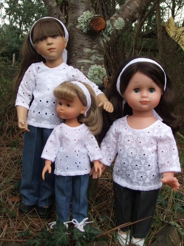 Avril 2018: Emilie et ses cousines!