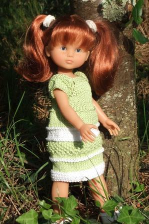 Une robe bicolore pour Marie!