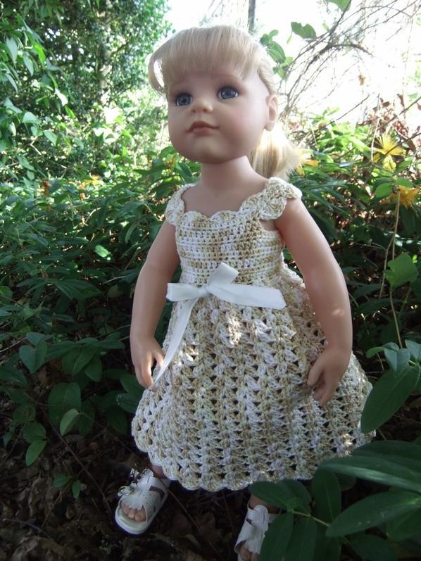 "Hannah et sa robe ""Vanille""!"