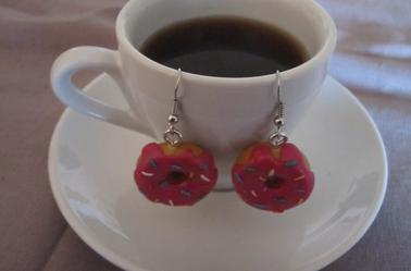 Boucles d'oreilles Donut's
