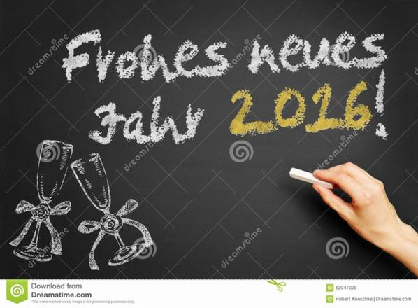 Frohes Neues Jahr 2016 / Bonne Année 2016