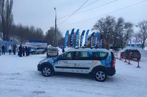 AVTOVAZ aux sports d'hiver pour y présenter la nouvelle LADA LARGUS Cross !!!