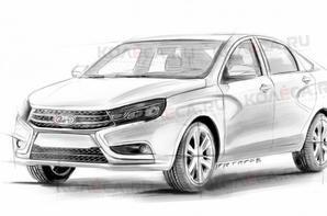 Voici, en dessins, à quoi pourrait ressembler la future LADA VESTA Hatch !!!