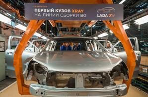 Une nouvelle étape a été franchie dans la pré-production de la LADA XRAY !!!