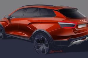 Avec la LADA VESTA Cross Concept, le break LADA entre dans une nouvelle ère !!!