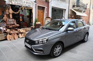 La presse russe invitée à essayer la nouvelle LADA VESTA Sedan... en Italie !!!