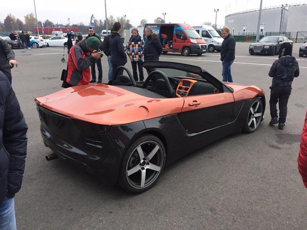 """""""Krim"""", un roadster à roues arrière motrices sur base de LADA KALINA II !!!"""