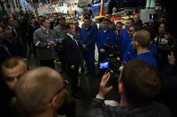 Le Premier Ministre Russe Dmitri Medvedev en visite ce vendredi à Togliatti !!!
