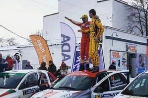 Premier rallye et déjà premier succès absolu pour la LADA KALINA NFR R1 !!!