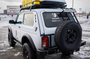 """Départ de l'expédition """"Dikari"""" pour 6500 km en LADA 4x4 et LADA XRAY !!!"""