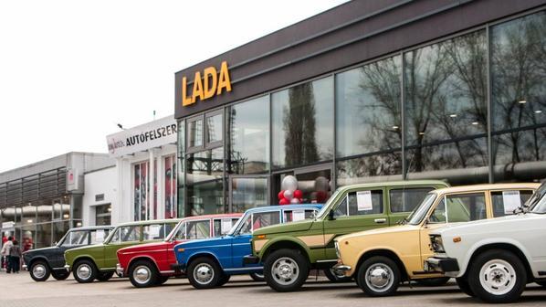 "En visite chez LADA Hungary Kft., les ""Veterán Zsiguli"" envahissent Budapest !!!"