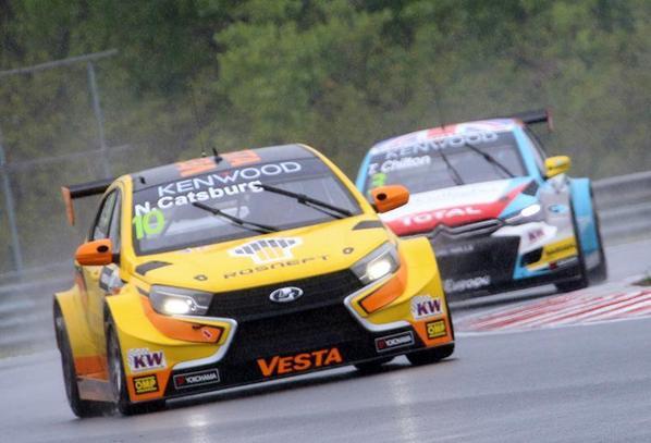 WTCC en Hongrie (2) : course folle et nouveau podium au goût d'inachevé !!!