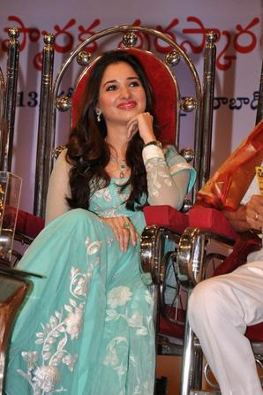 2013 Events : Tamanna At Sri B Nagi Reddy Memorial Award 2012