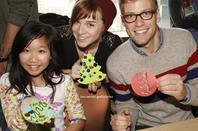 CBS Visites l'Hôpital pour enfants de Los Angeles pour l'événement annuel de vacances 06/12/2012