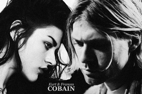 . LETTRE  D'ADIEU  PHOTO : Frances Bean Cobain et Kurt Donald Cobain  .