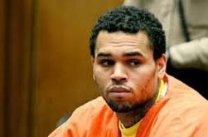 Chris Brown pour sa sorti de prison ses proche on organisé une petit fete