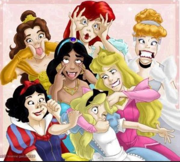 Princesses dejentées !!!!!!!