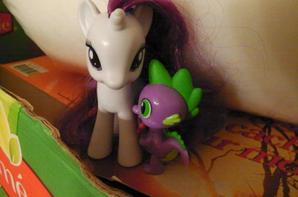 Fluttershy, Rarity x Spike et Pinkie Pie